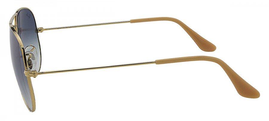 RAY-BAN AviatorLarge Metal RB3025 - 58/14-Espelhado-Dourado 001/3F 2N