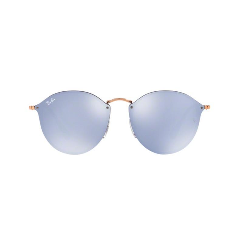 Ray-Ban - Blaze Round RB3574N 9035/1U - Óculos de Sol - Tamanho 59