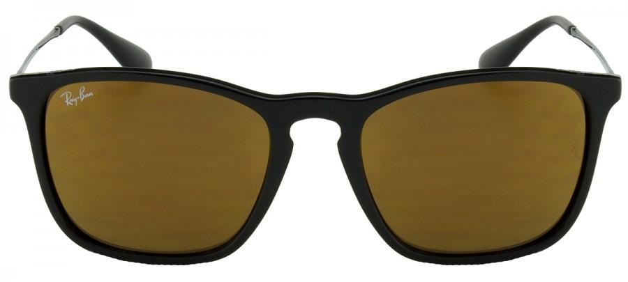 RAY-BAN Chris RB4187L - Amarelo/Espelhado - Preto - 601/7D 54/18 3N