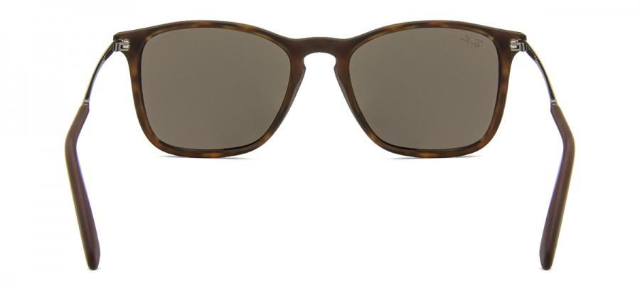 RAY-BAN Chris RB4187L - Tartaruga/Fosco - Dourado/Espelhado - 865/5A 54/18 3N