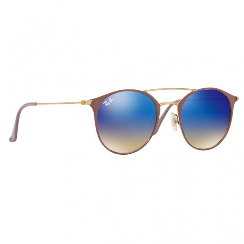 Ray Ban Double Bridge RB3546 9011/8B 52-20 145 3N