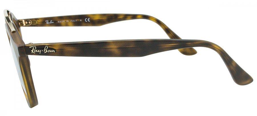 RAY-BAN Gatsby  RB4256 - Tartaruga Fosco - Dourado/Espelhado - 6092/5A 46/20 Small  3N