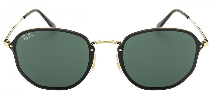 7e481c2bf5d51 Óculos de Sol. FOTOS. RAY-BAN Hexagonal Blaze RB3579-N - Preto Dourado - 001  71
