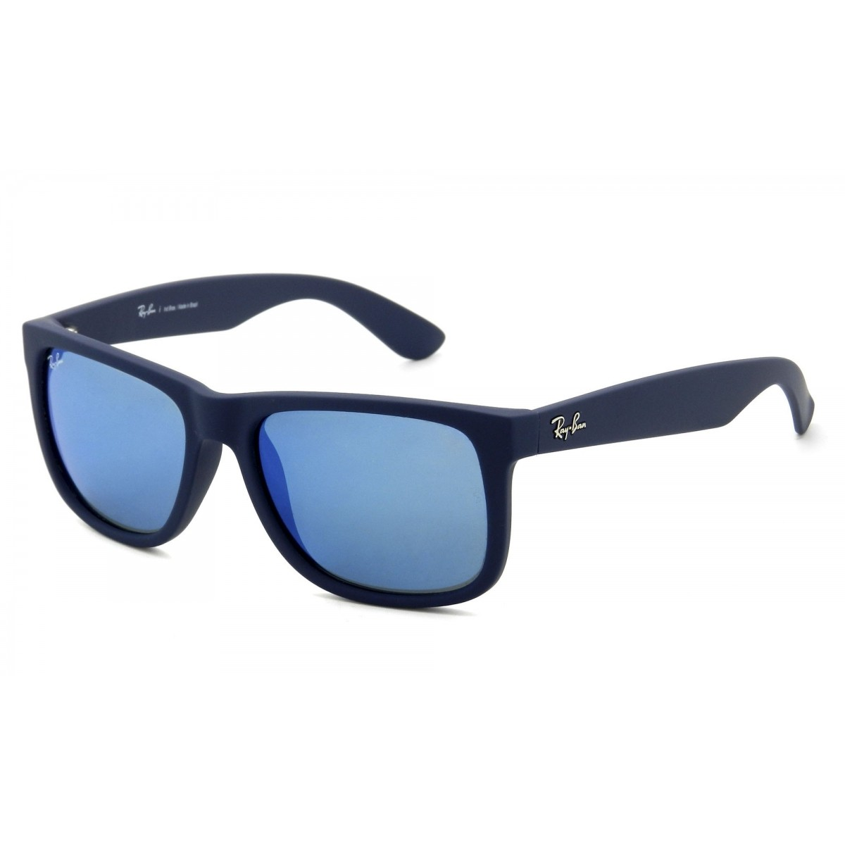 RAY BAN Justin RB4165L Espelhado - Azul - 620955 / 55