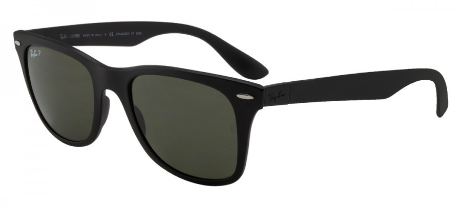 RAY-BAN Liteforce RB4195 Polarizado - Preto Fosco - 601S/9A 52-20 3P