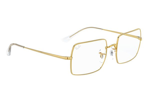 RAY-BAN RB1969V - Dourado Retangular  - 3086  54-19  145