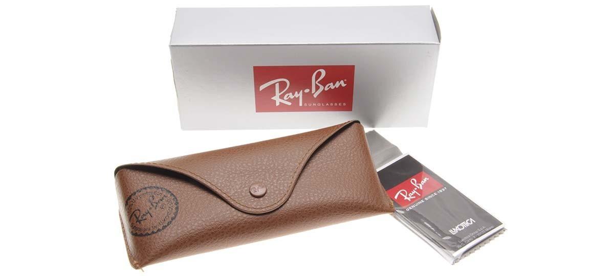 RAY-BAN RB3025L - Dourado/Marrom- Degradê - 001/51 - 58/14 2N