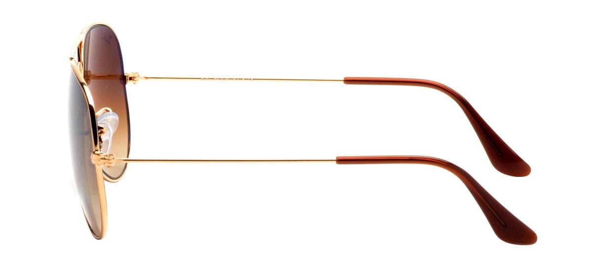 RAY-BAN RB3025L - Dourado/Marrom- Degradê - 001/51 - 62/14 2N