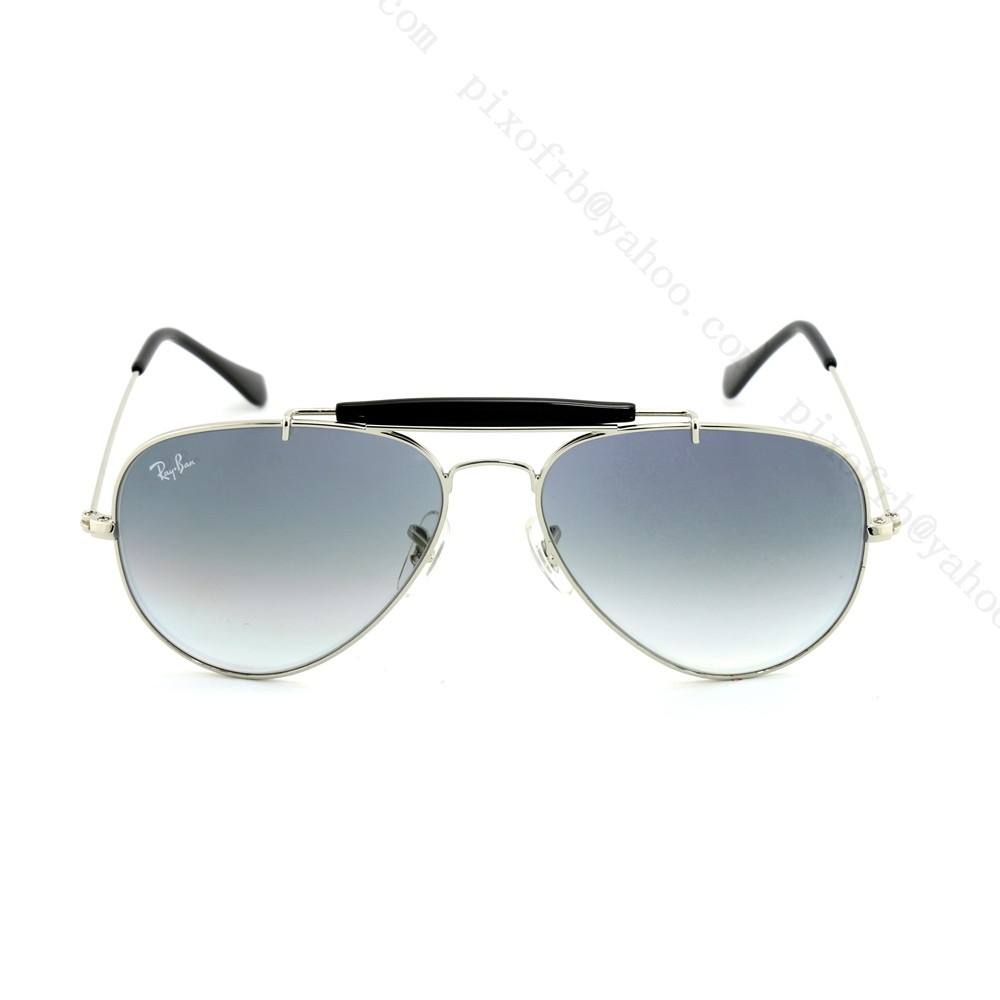 RAY-BAN RB34074 - PRATA - CINZA/DEGRADÊ - 003/32 58/14 2N