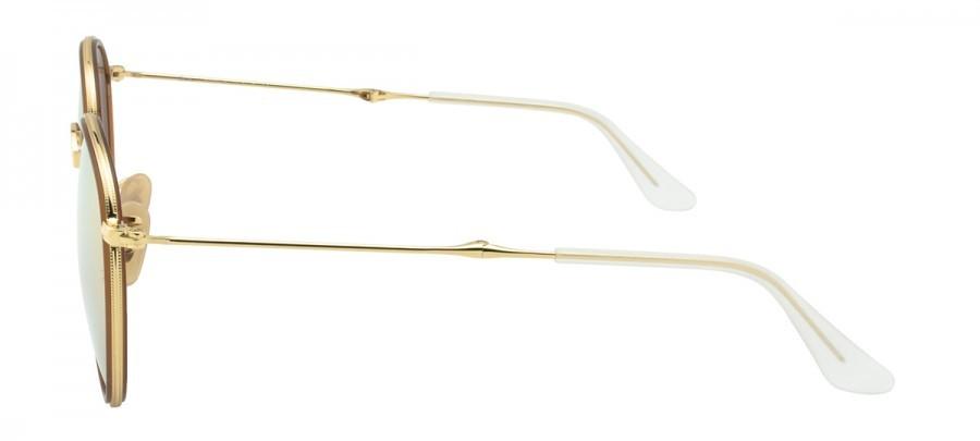 RAY-BAN RB3517 Espelhado -Dourado/Rosê- Dobrável 001/Z2 -51/22 140 2N