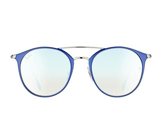 Ray Ban Double Bridge RB3546 9010/9U 52-20 145 3N