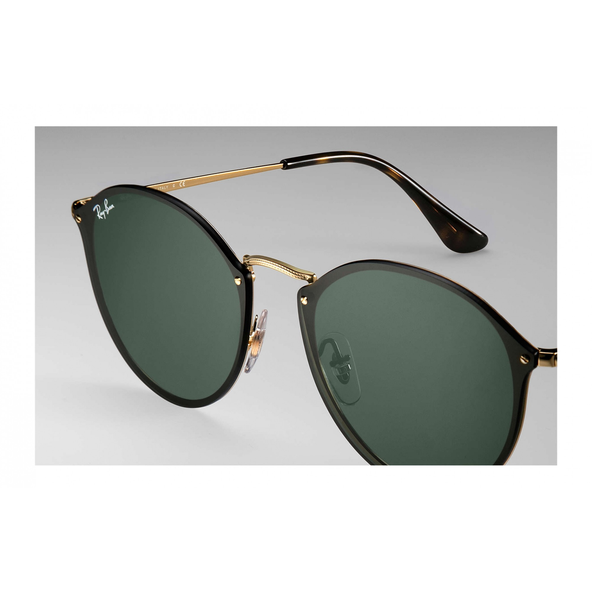 Ray-Ban RB3574N 001/71 59-14 - BLAZE ROUND