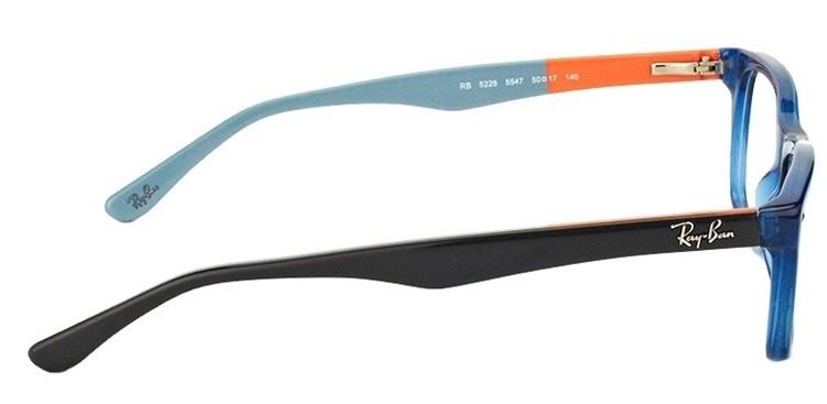 RAY-BAN RB5228 - Azul/Cinza - 5547 53-17 140