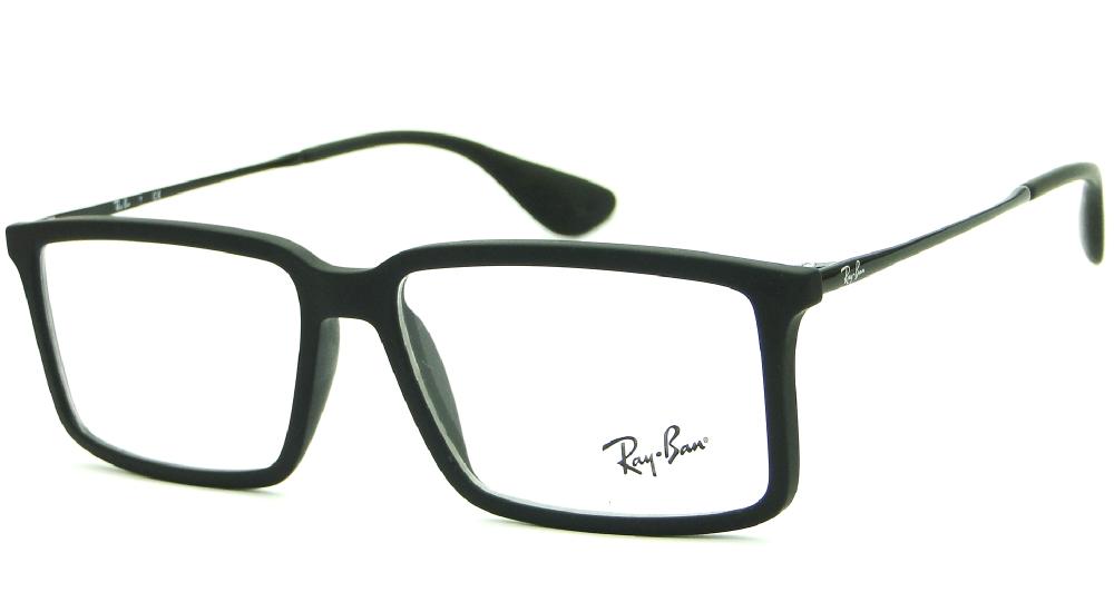 RAY-BAN RB7043 - Preto Fosco - 5364 54-14 140