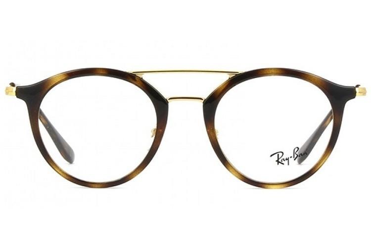 RAY-BAN RB7097 - Tartaruga/Dourado - 2012 49-21 145