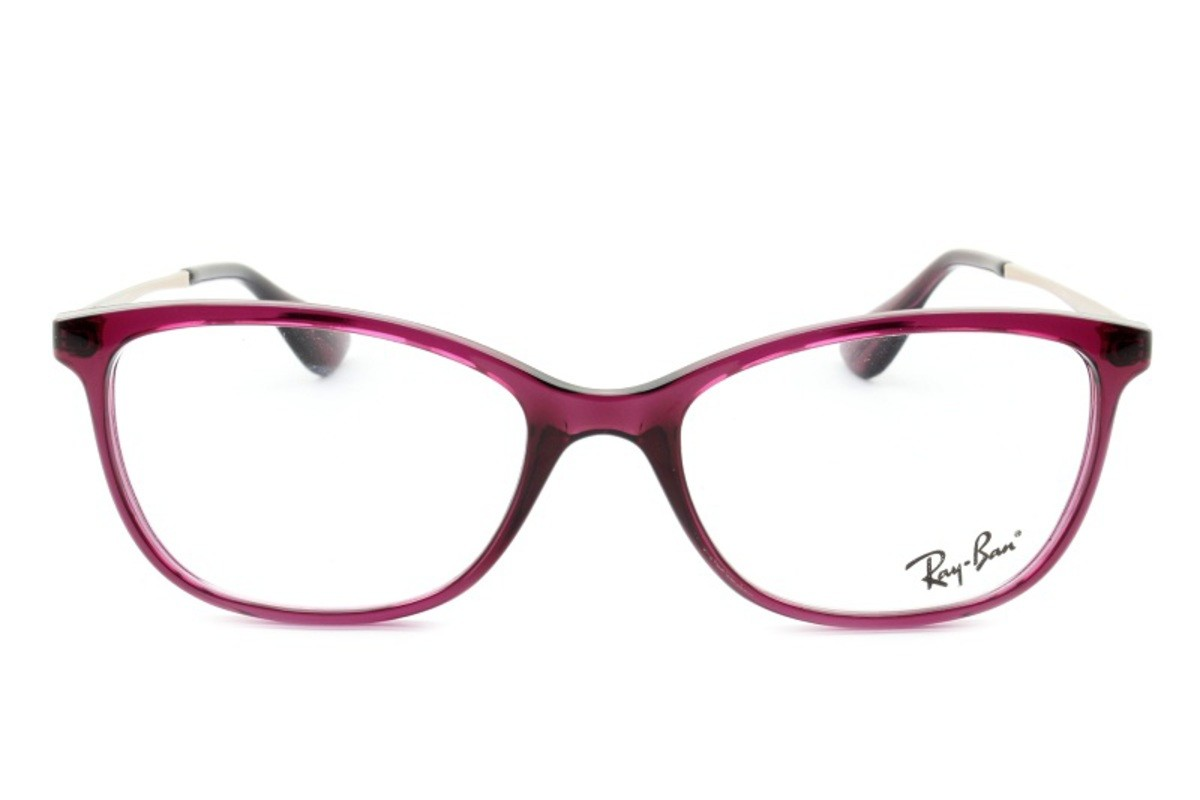 RAY-BAN RB7106L - Roxo/Translucido - 8000 53-17 140