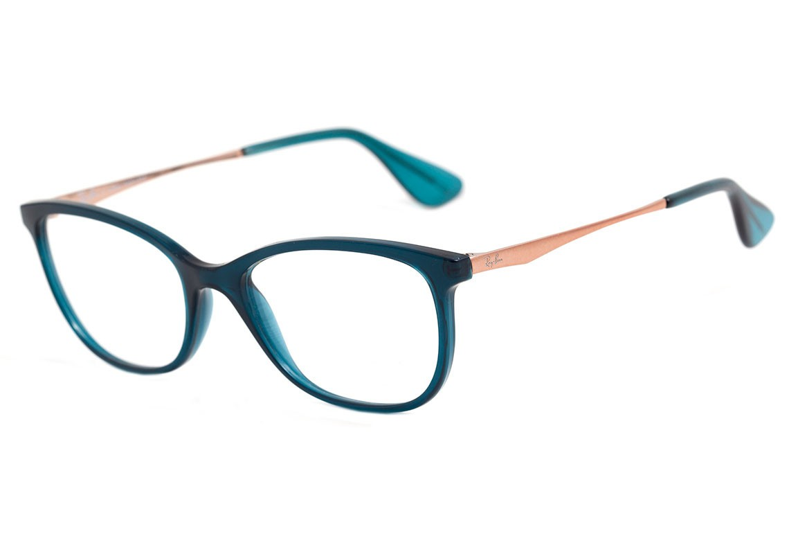 RAY-BAN RB7106L - Verde/Translucido - 5705 53-17 140