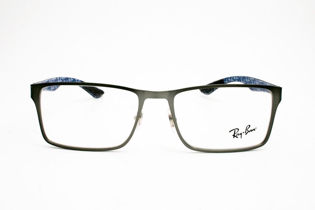 RAY-BAN RB8415 - Prata/Fibra de Carbono - 2620 55-17 145