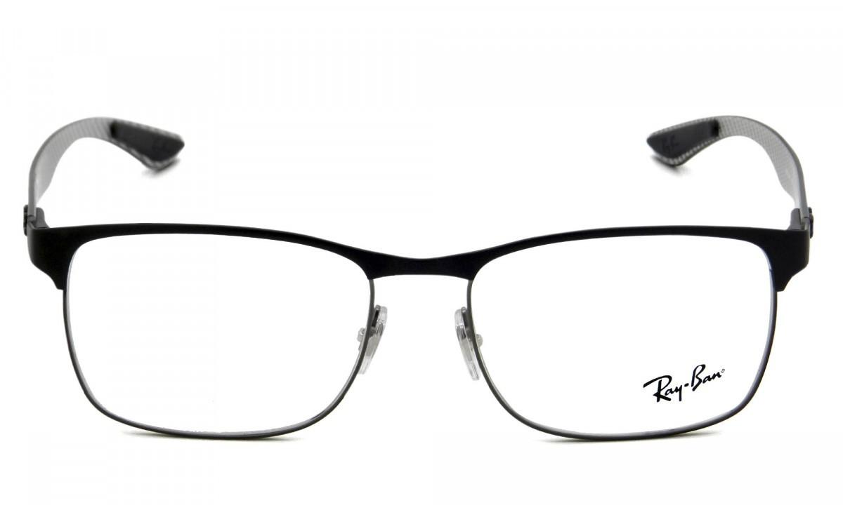 RAY-BAN RB8416 - Preto/Prata - Fibra de Carbono - 2916 55-17 145