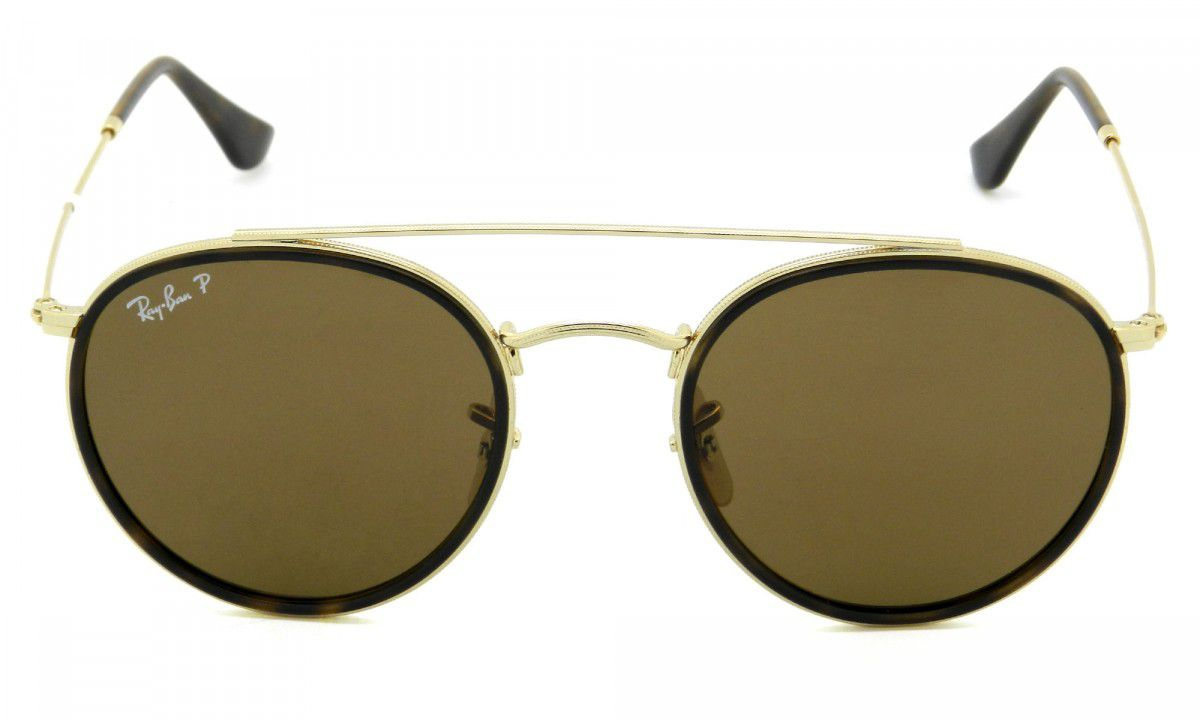 Ray Ban - Round Double Bridge RB3647-N 001/57  51-22 145 3P