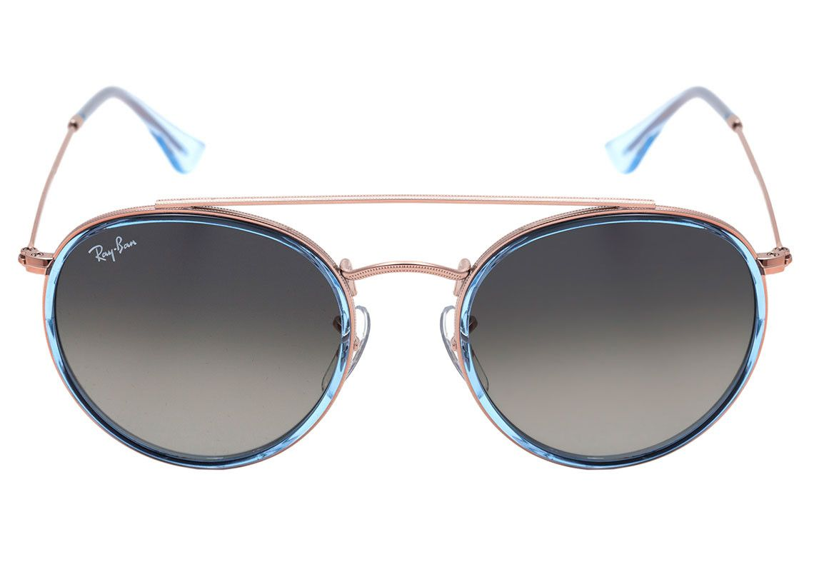 Ray Ban - Round Double Bridge RB3647-N 9067/71 51-22 145 3N