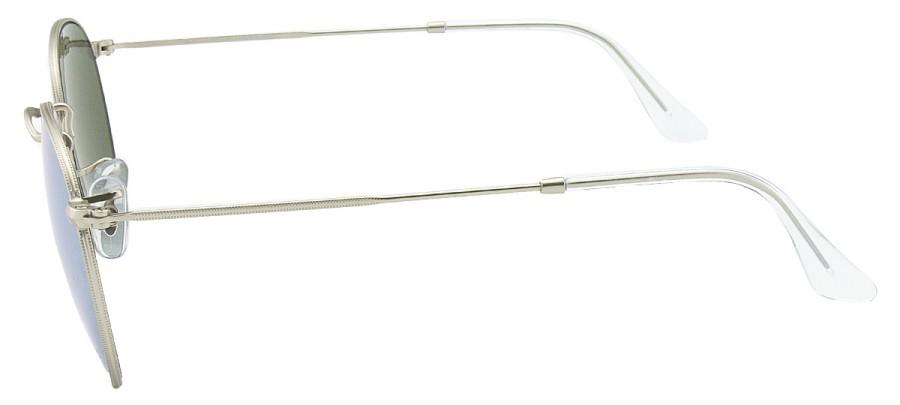 RAY-BAN Round Metal RB3447L - Espelhado - Prata - 019/30 53/21 145 3N