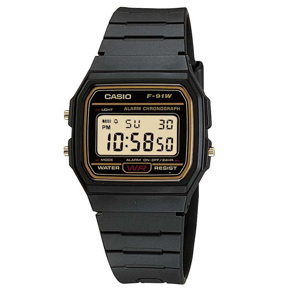 Relógio Casio F-91WG-9QDF Preto