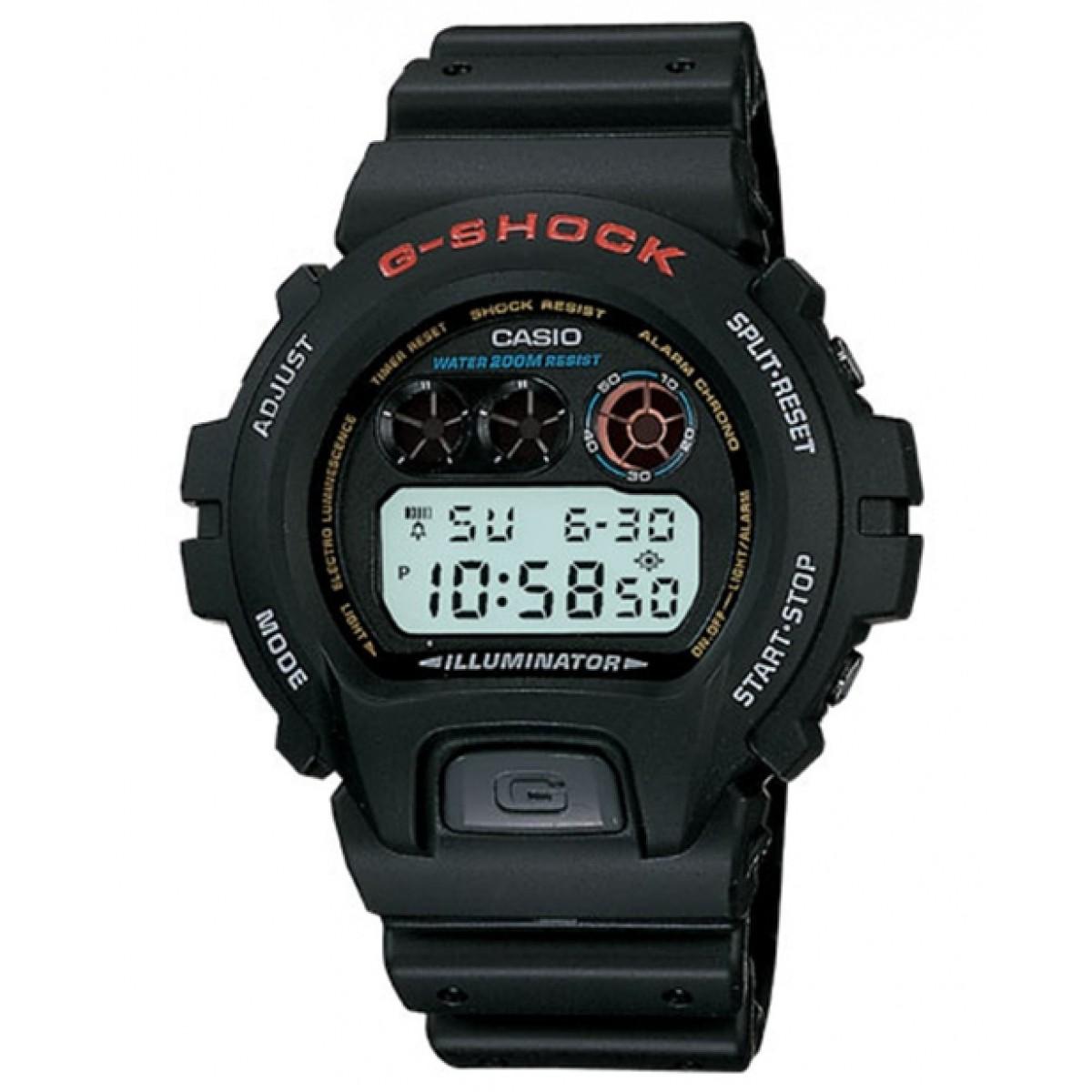 Relógio Casio Masculino - G-SHOCK DW-6900-1VDR