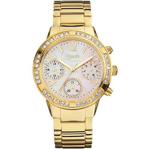 Relógio Guess  92551LPGSDA1 Feminino Dourado/Branco