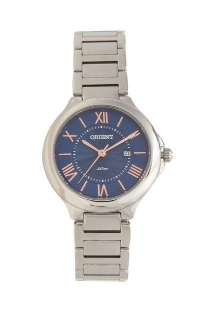 Relógio Orient FBSS1122-D3SX Prata/Azul