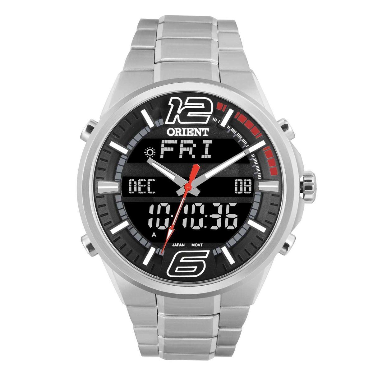 Relógio Orient Masculino Anadigi MBSSA047-PVSX