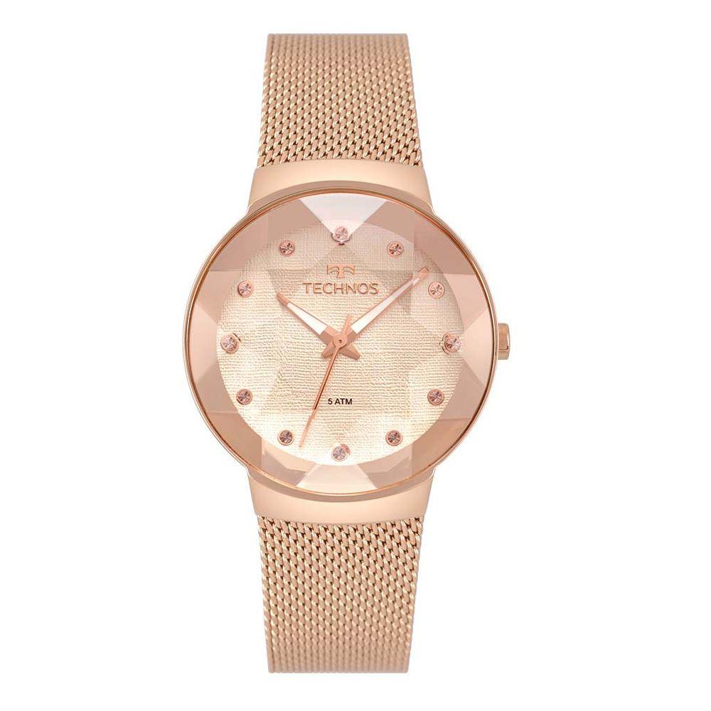 Relógio Technos Elegance  Crystal Swarovski 2035MPX/5T
