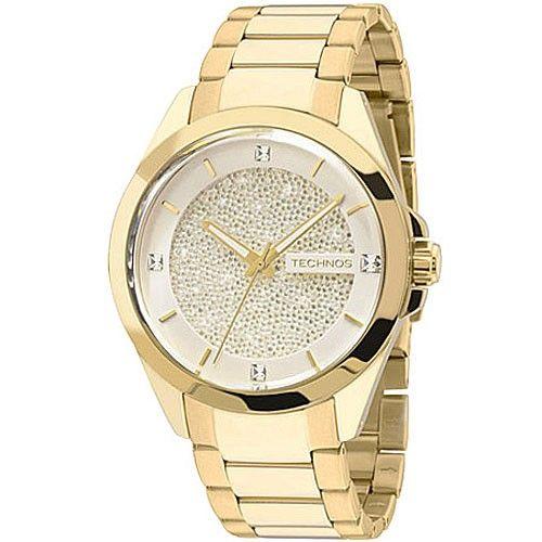 Relógio Technos Elegance  Crystal Swarovski 203AAA/4k