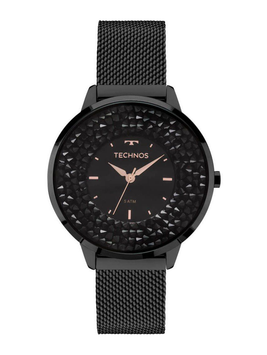 Relógio Technos Elegance Preto - 2035MLF/1P