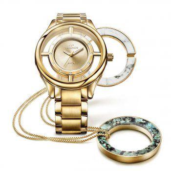 Relógio Technos- Elegance Signature Kit com Colar GL30FK/K4X