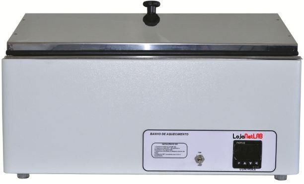 BANHO MARIA DIGITAL CAPACIDADE 5 LITROS TEMPERATURA DE TRABALHO +5+100°C RESOLUÇÃO 0,1 SSD-5L