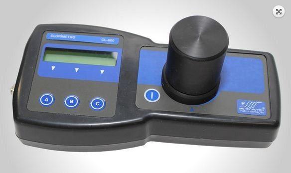 CLORÍMETRO DIGITAL PORTÁTIL MICROPROCESSADO CL-800