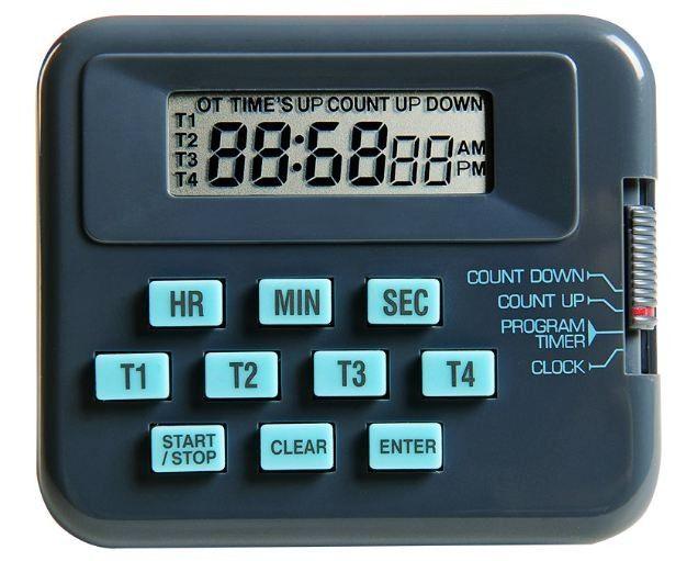 TIMER DIGITAL COM 4 CANAIS INDEPENDENTES K30-004 KASVI