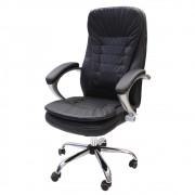 Cadeira De Escritório Presidente Executiva Conforto Com Sistema Relax e Pillow Top Moscow Preta