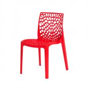 Cadeira De Jantar Gruvyer Design Vermelha