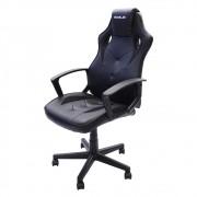 Cadeira Gamer S1 Barata Giratória com Ajuste de Altura Office Setup Game Eaglex Cor Preto