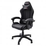 Cadeira Gamer EagleX Hero Preta Com Regulagem De Encosto