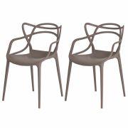 Kit 2 Cadeiras De Jantar Allegra Master Fendi Com Inmetro