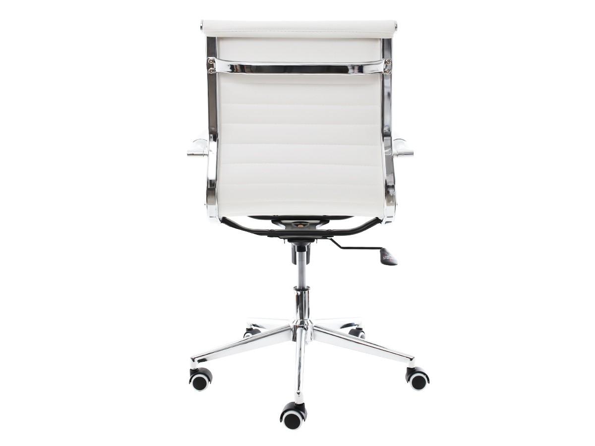 Cadeira De Escritório Giratória Diretor Stripes Esteirinha Branco