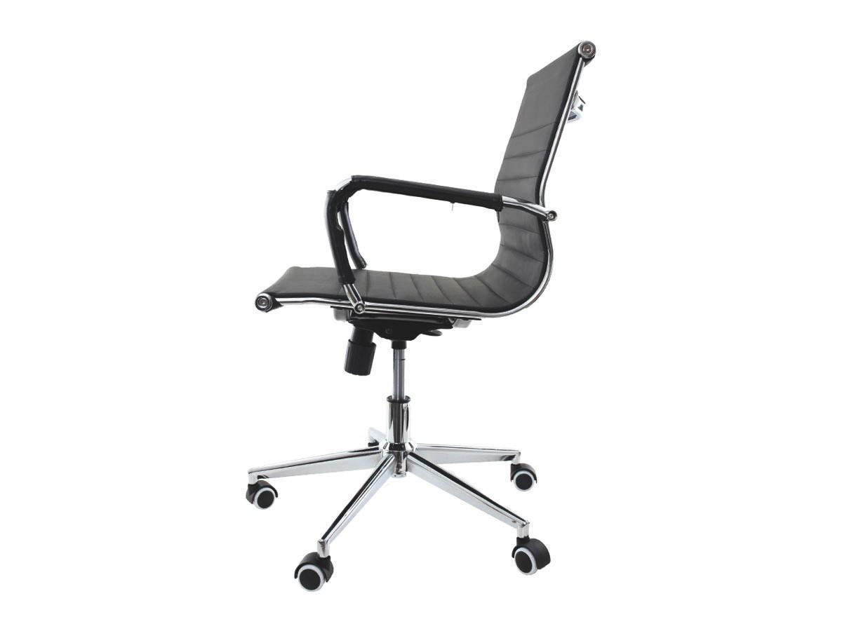 Cadeira De Escritório Giratória Diretor Stripes Esteirinha Preto