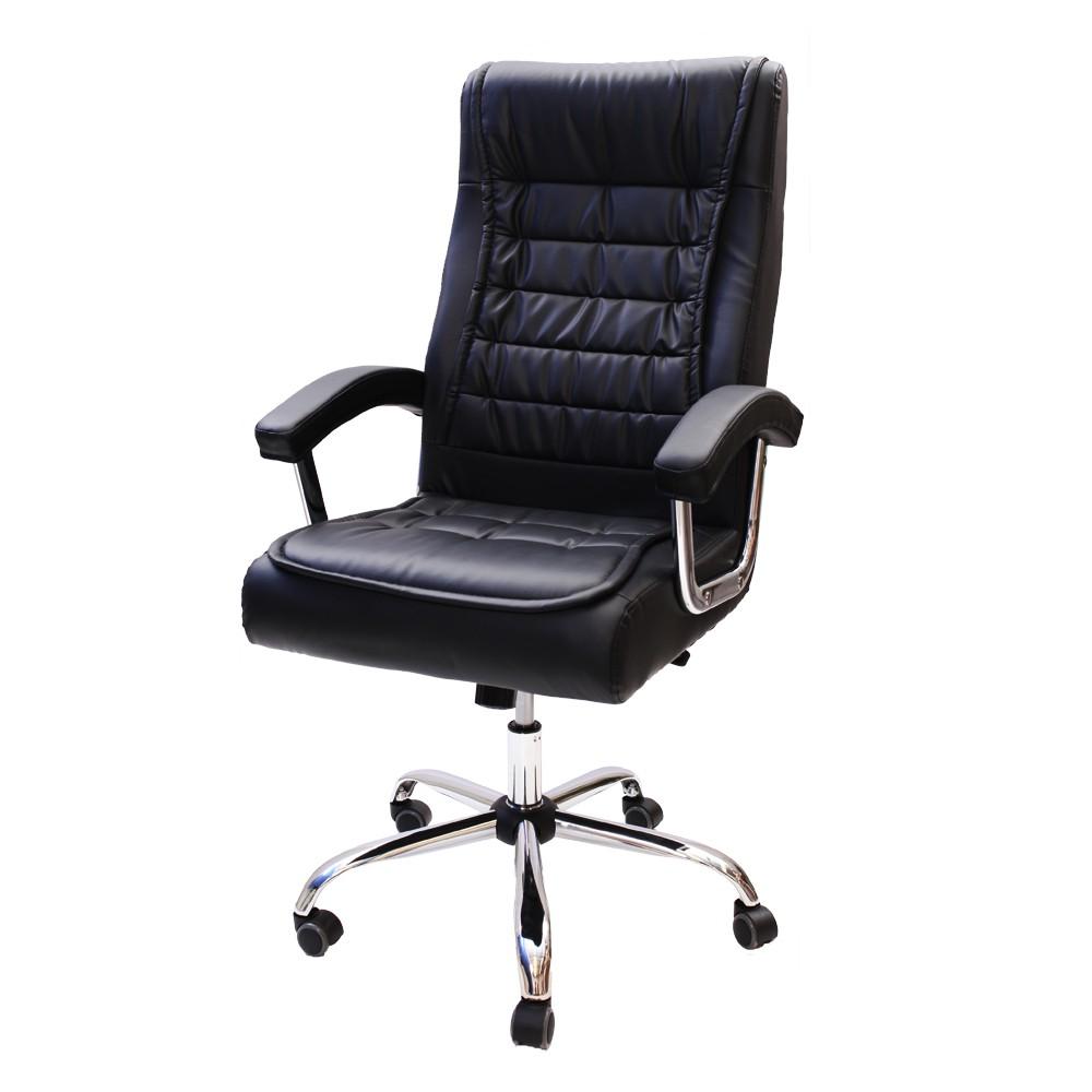 Cadeira De Escritório Giratória Presidente Big Com Molas Ensacadas Preto
