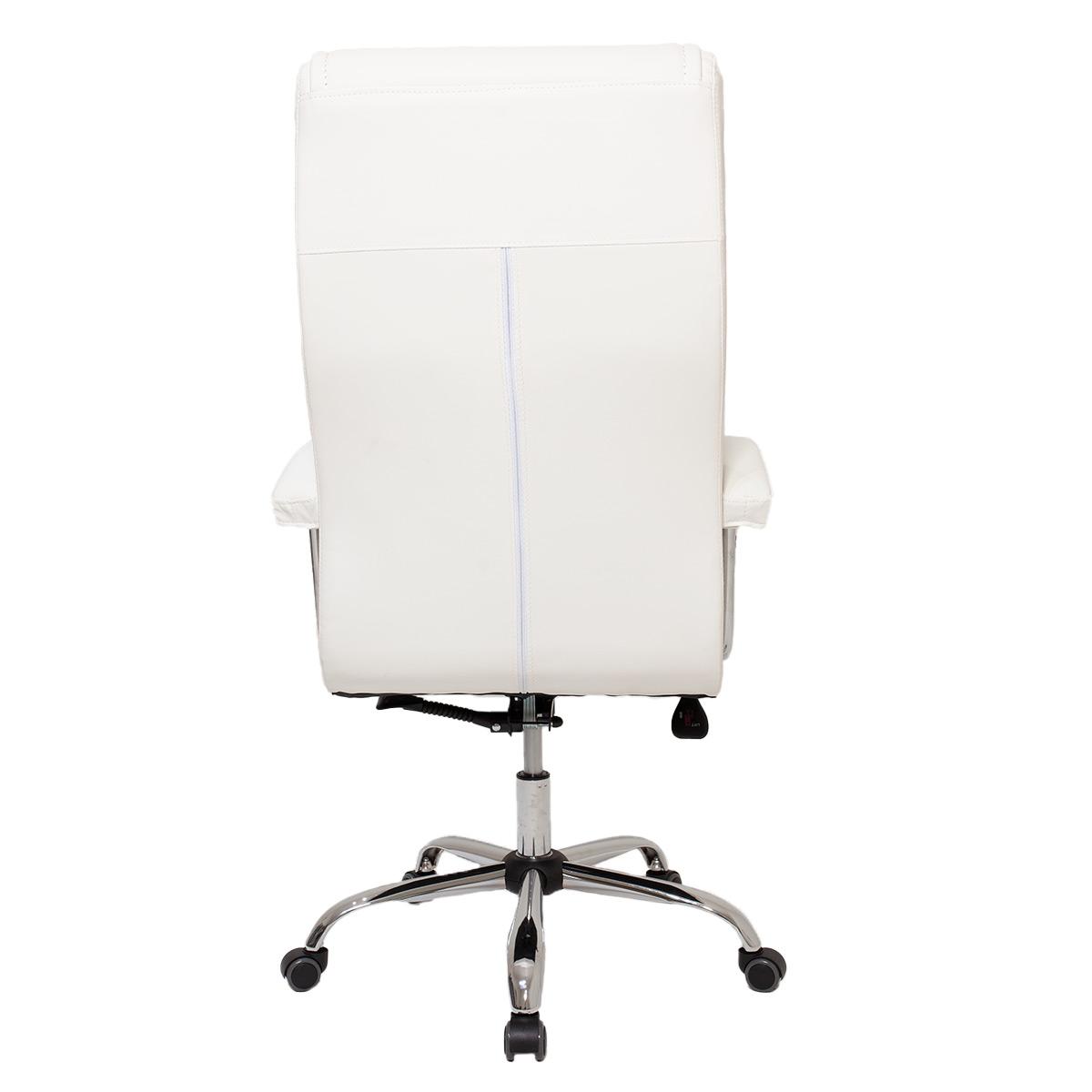 Cadeira De Escritório Presidente Monique Big Branca