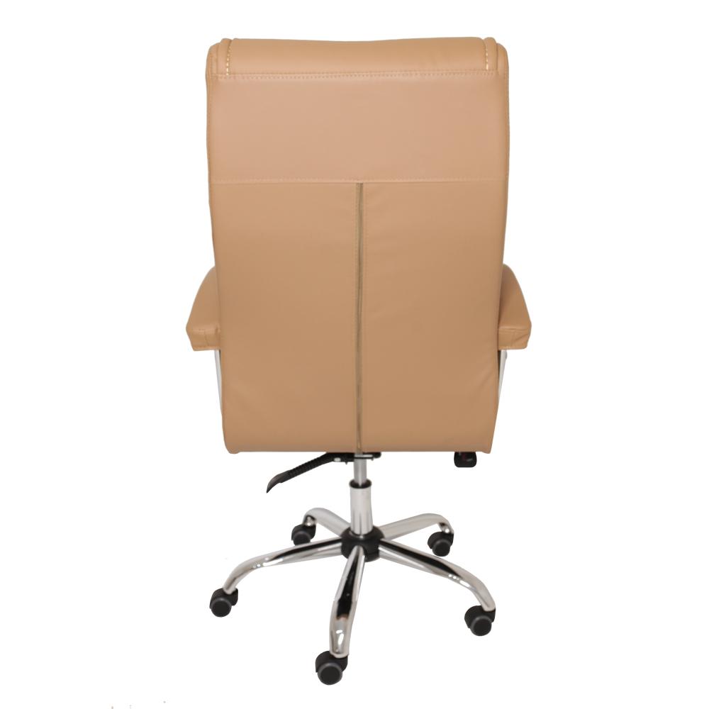 Cadeira de Escritório Presidente Monique Big Caramelo