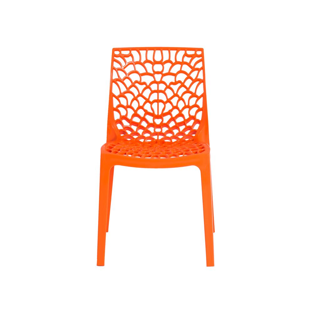 Cadeira De Jantar Gruvyer Design Laranja