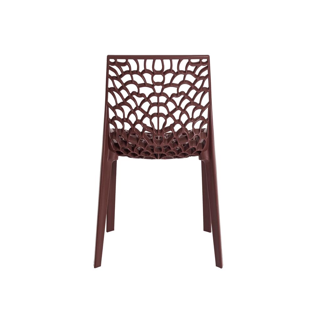 Cadeira De Jantar Gruvyer Design Marrom